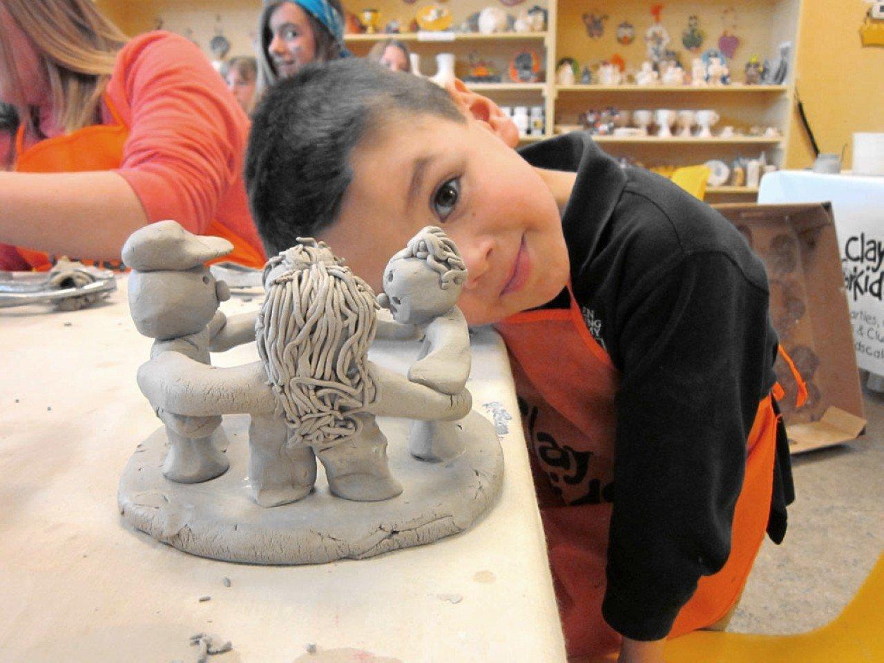 cours de poterie 4-8 ans 2ème trimestre2