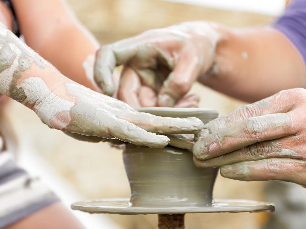 cours de poterie 4-8 ans 2ème trimestre