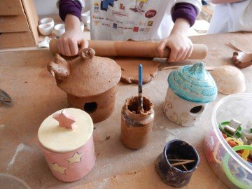 cours de poterie 8-12 ans 3ème trimestre