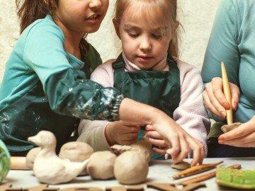 stage de poterie hiver 3 après-midis