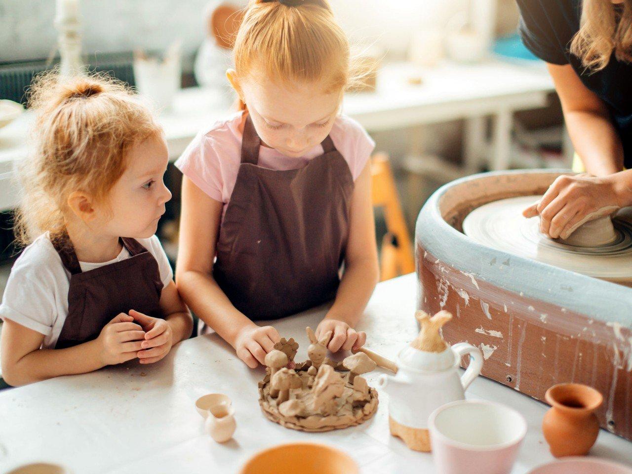 stage de poterie pâques 3 matinées